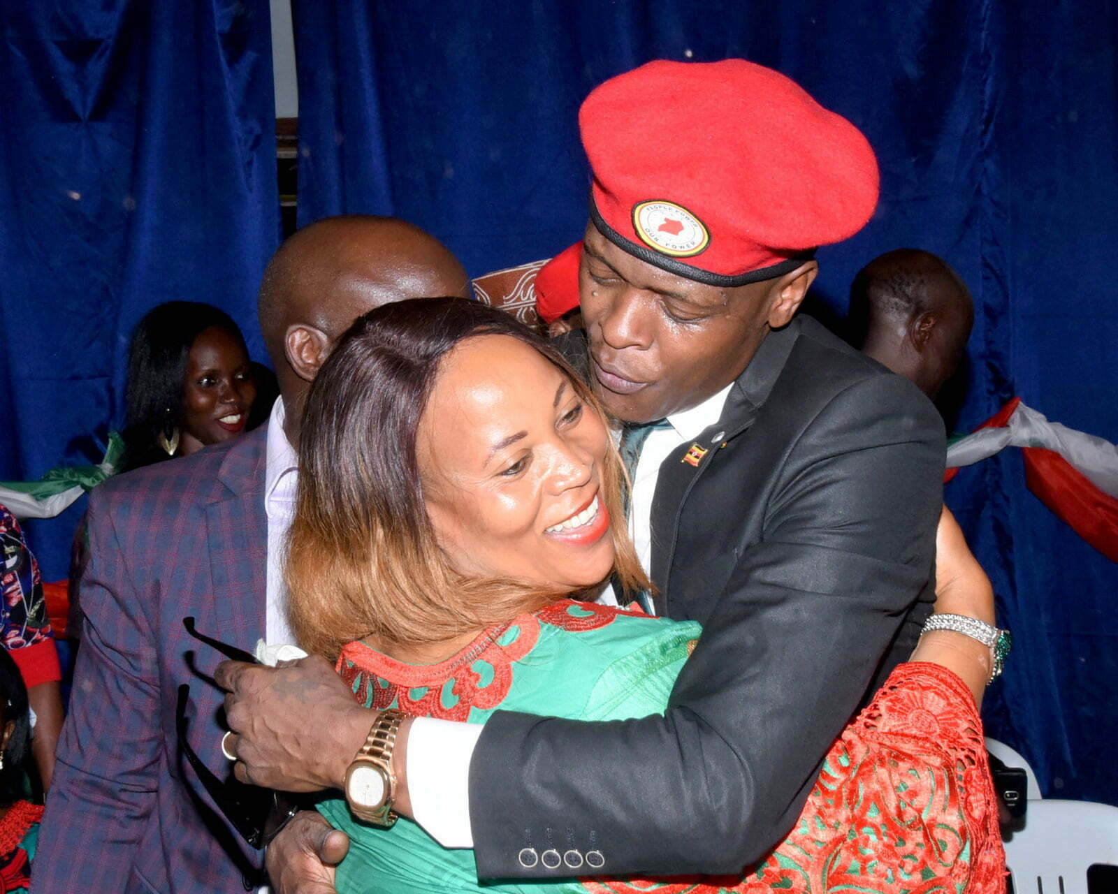 Jose Chameleone officially joins the Democratic Party (DP)