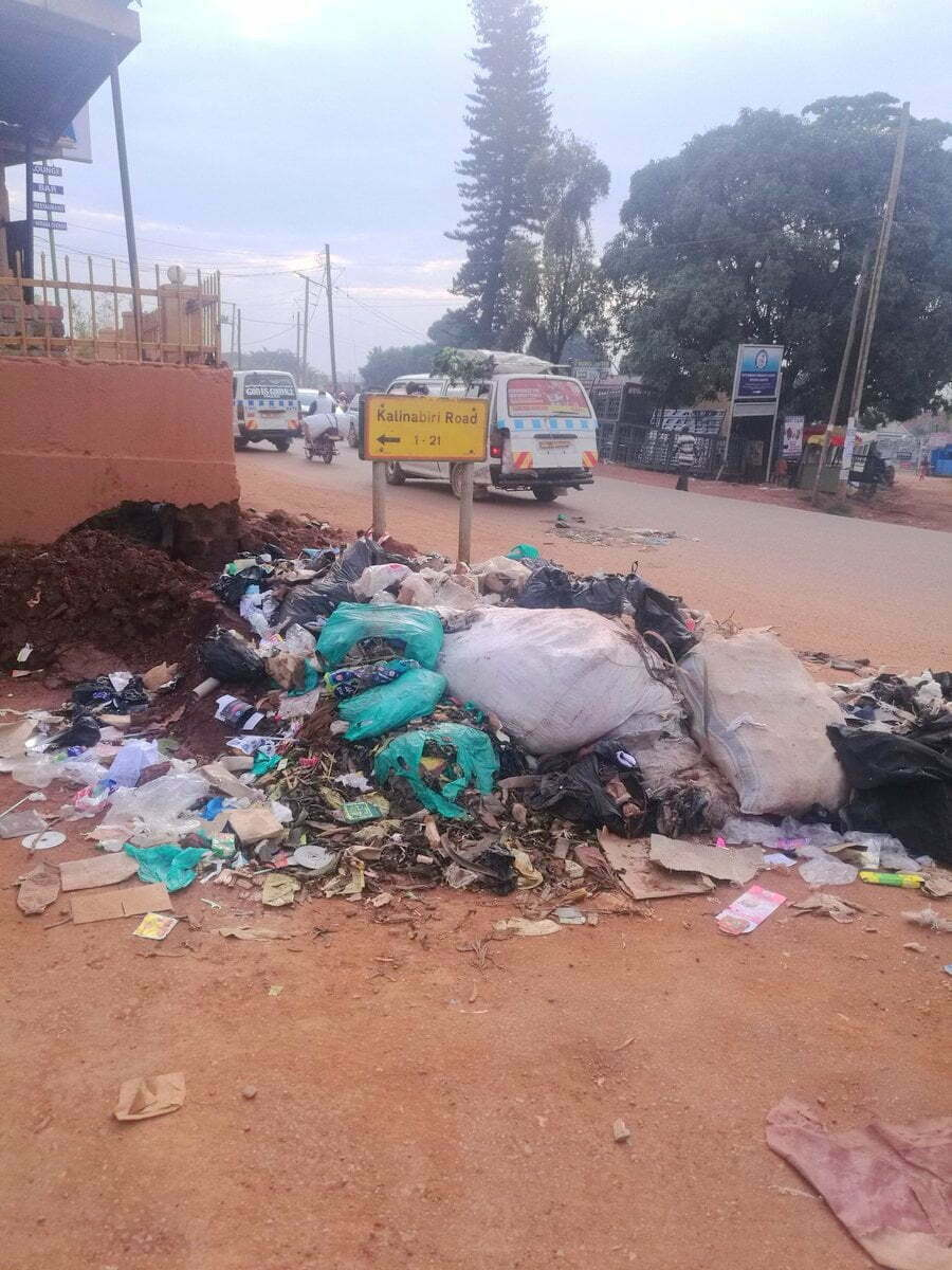 Kampala Capital City Authority (KCCA) garbage collection 2