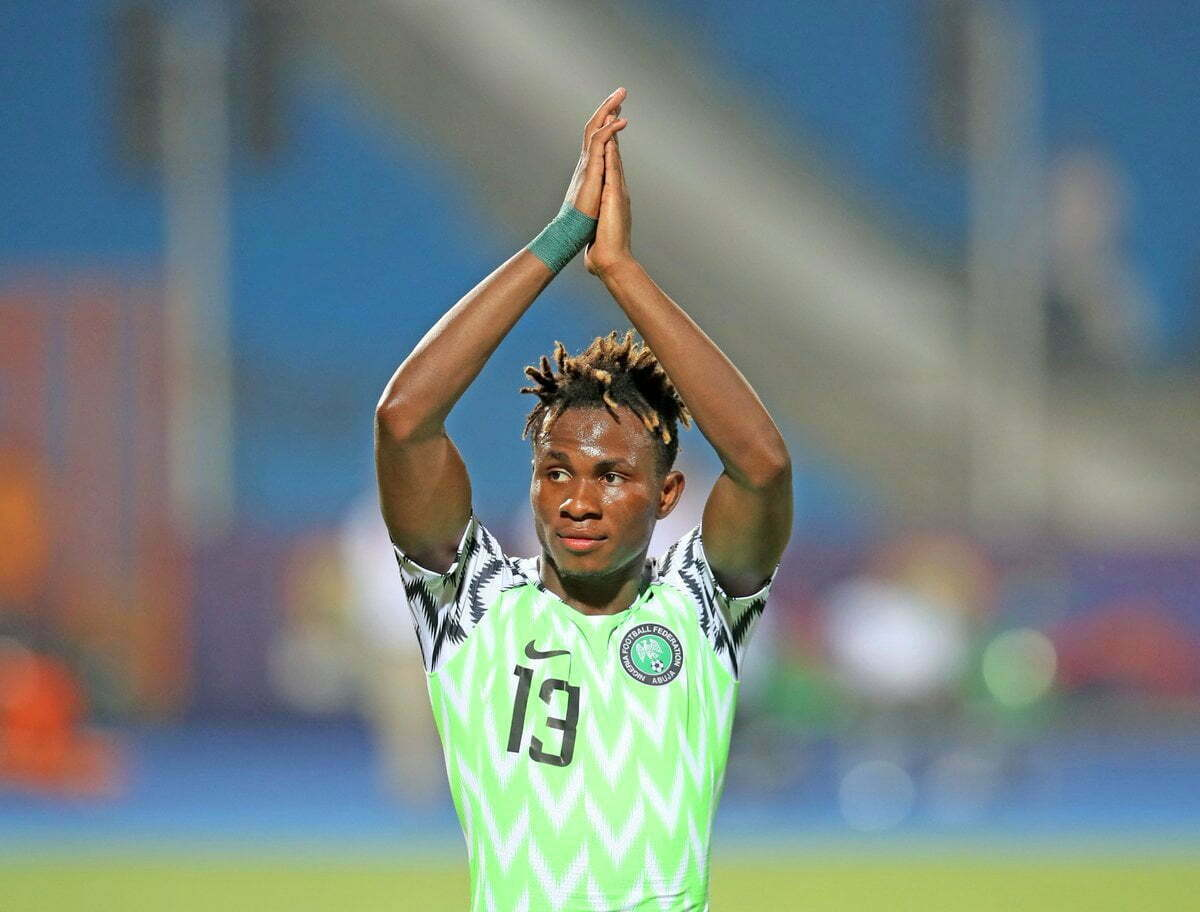 Samuel Chukwueze became the youngest scorer at the #TotalAFCON2019