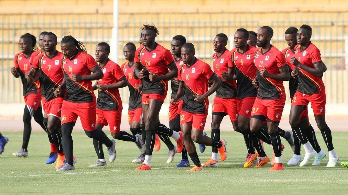 Uganda-Cranes-players-going-through-the-paces-in-Cairo-Egypt
