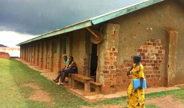 Bududa district poorly maintained school structures