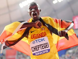 Joshua Cheptegei wins Uganda's second gold medal in Doha