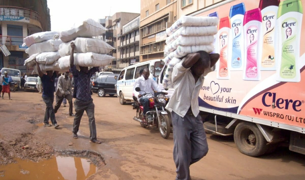 Traders in Uganda stock-up for Christmas