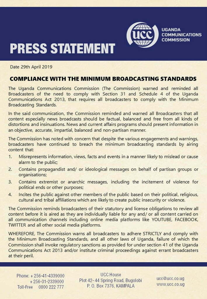 compliance-with-the-minimum-broadcasting-standards-ucc
