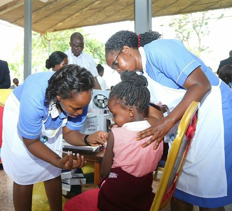 measles-rubella immunization