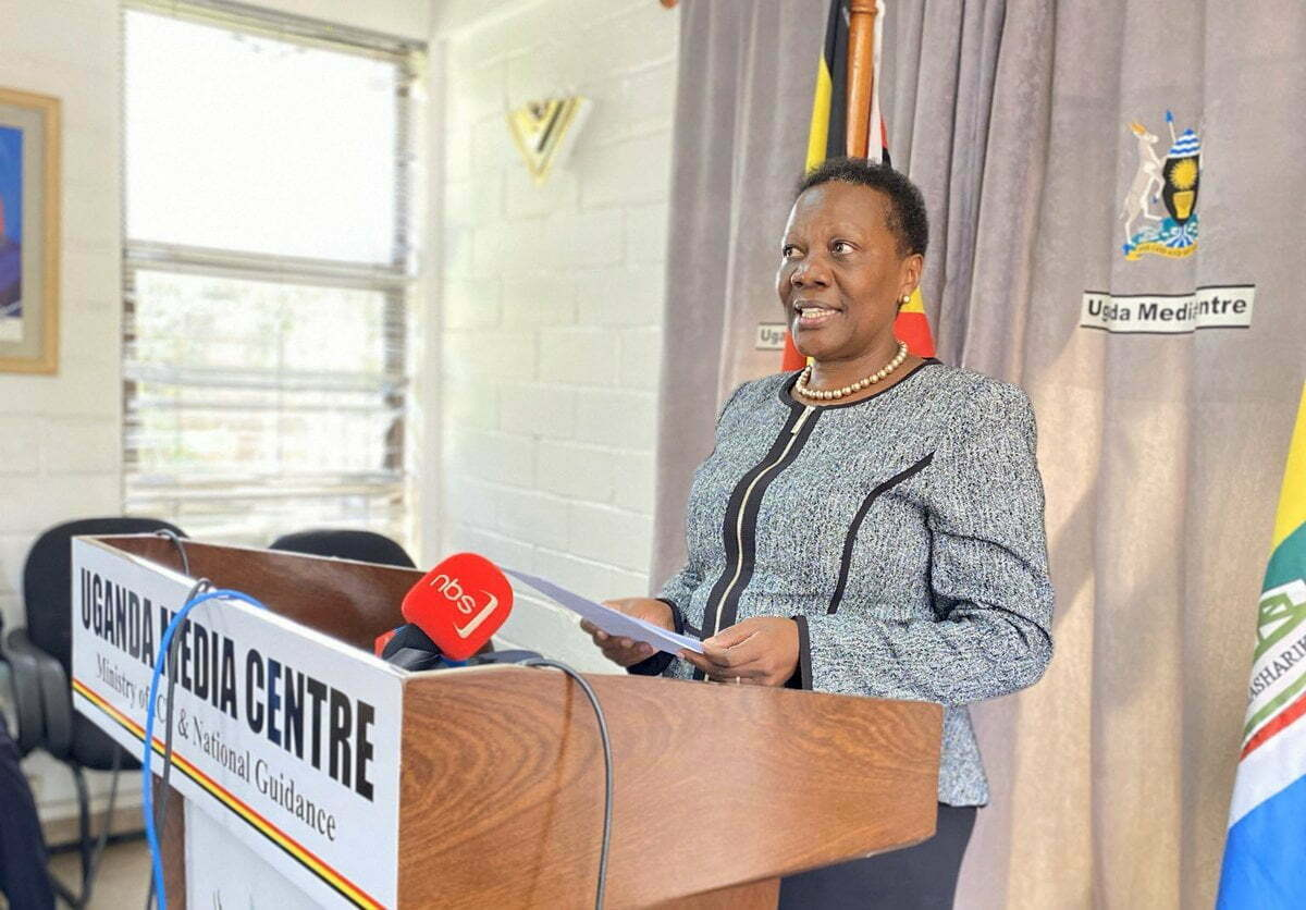 Energy and Mineral Resources Minister Eng. Irene Muloni