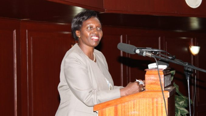 Fight for your space - Kenya's former female presidential candidate tells Ugandan women