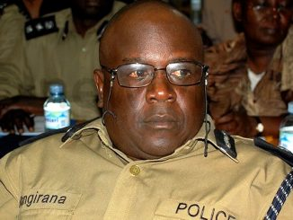 Police director for logistics Godfrey Bangirana replaced
