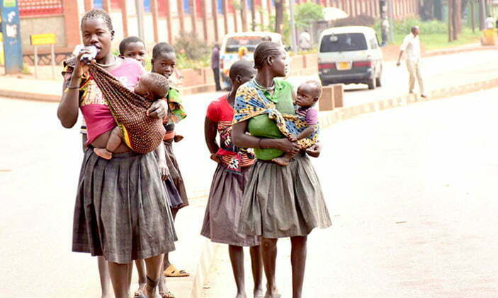 STREET CHILDREN IN KAMPALA