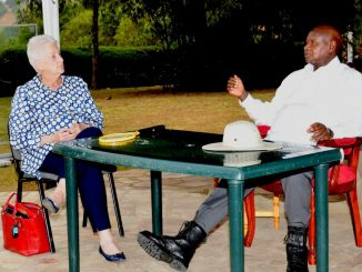 US Ambassador Malacs's tenure in Uganda comes to an end