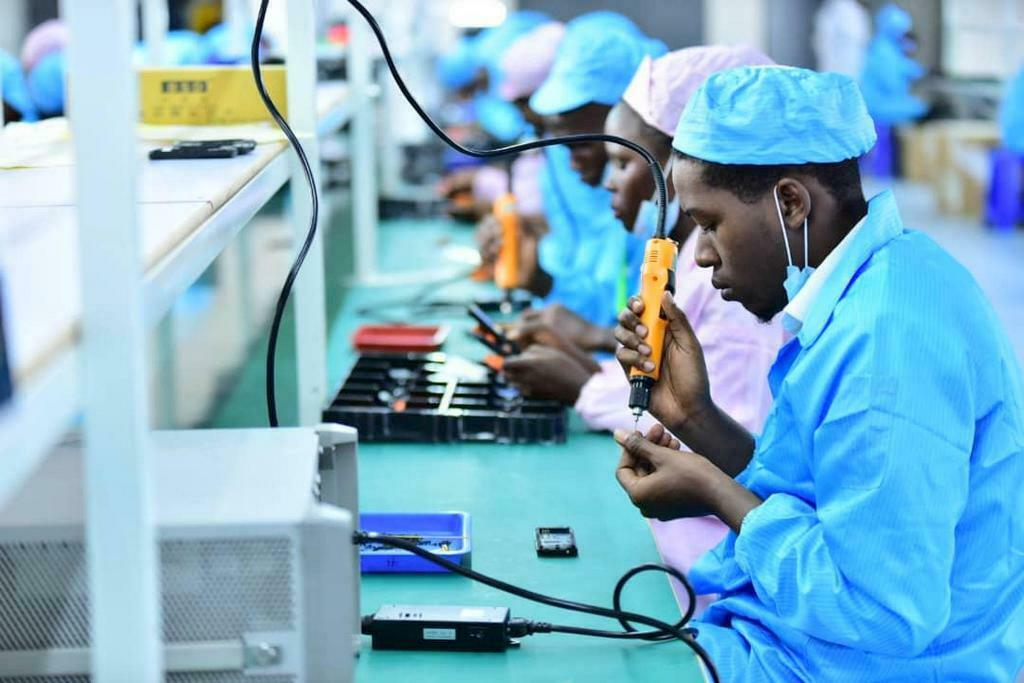 Uganda's first mobile phone factory