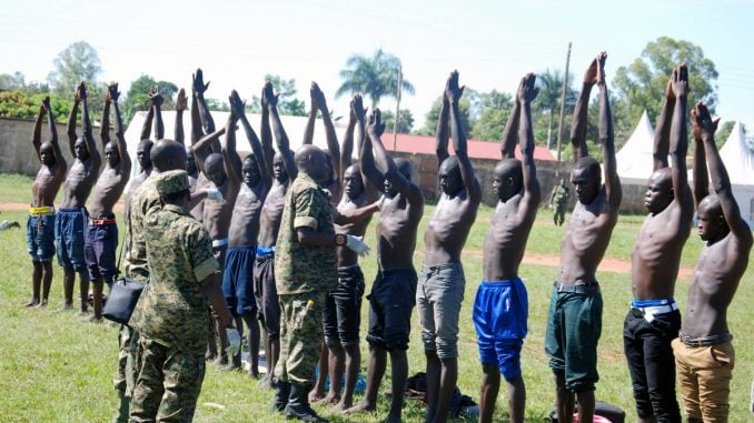 UPDF to recruit 4,000 regular soldiers