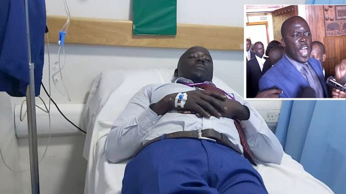 MP Odonga Otto hospitalized following alleged fist fight with MP Akol