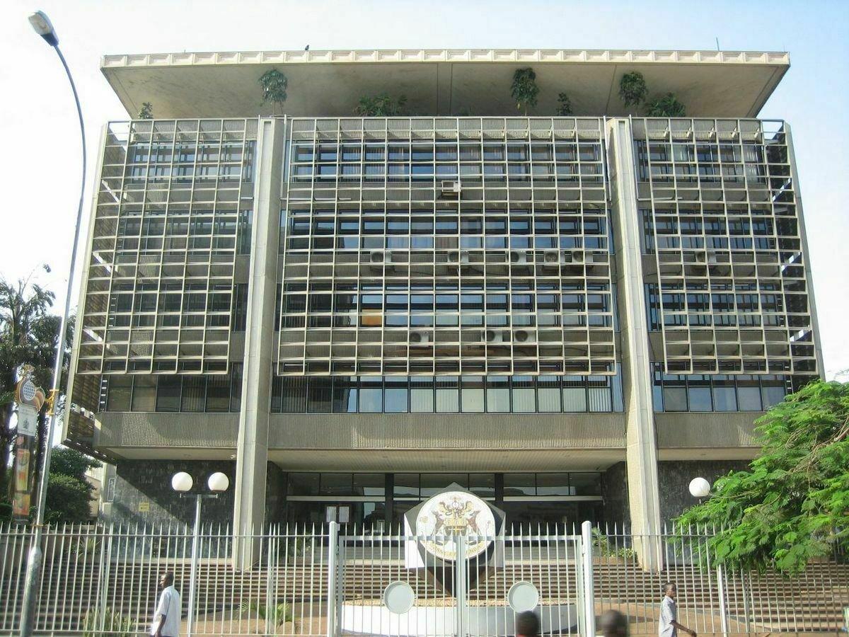 Bank of Uganda (BoU) headquarters in Kampala