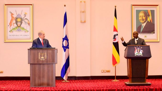 Uganda President Museveni 'declines' request by Israeli PM Netanyahu to open embassy in Jerusalem