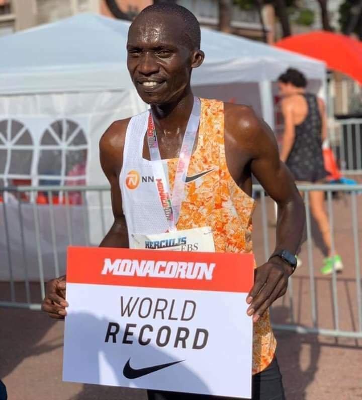 Uganda's Cheptegei Breaks 5 Kilometer World Record at Monaco Run 2020