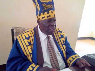 Teso paramount chief Augustine Osuban Emorimor names new cabinet