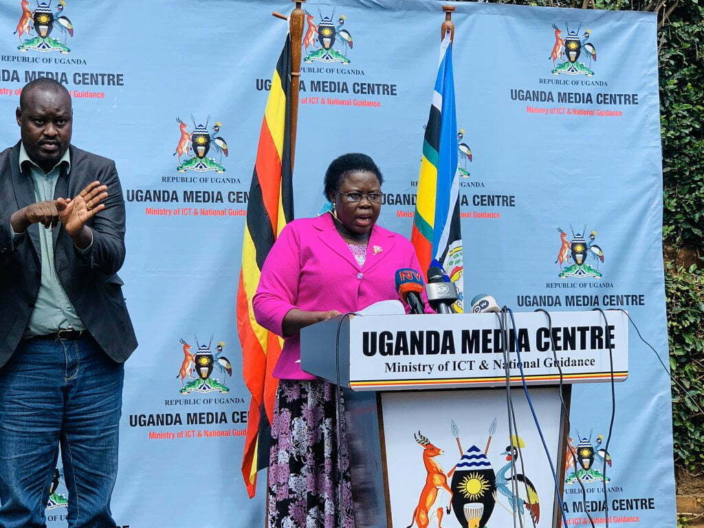 Dr Joyce Moriku, the State Minister of Primary Healthcare