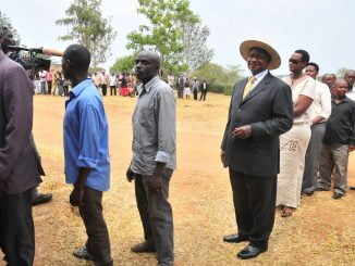 President-Museveni-waits-in-line-to-vote-in-Kiruhura-District-Ronald-Kabuubi