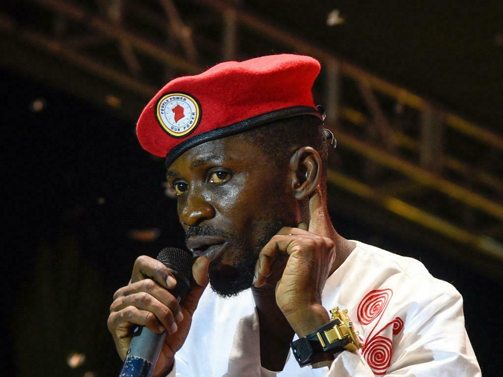 Bobi Wine performing live