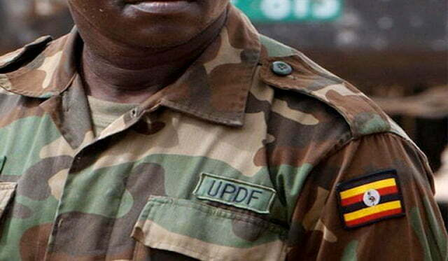 Killed UPDF soldier
