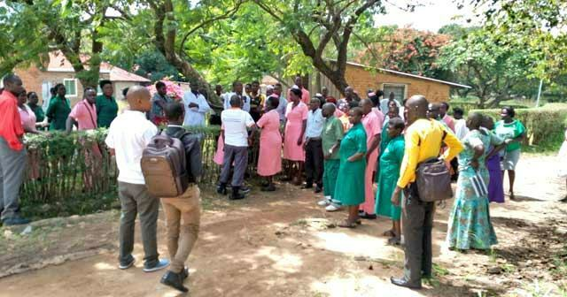 Kuluva Hospital workers strike over non-payment