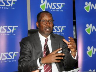 The Managing Director of the National Social Security Fund (NSSF), Richard Byarugaba