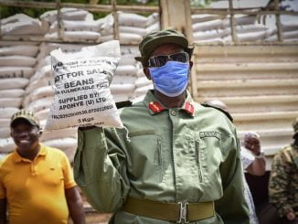 Ugandan security to vigorously enforce directive to wear face masks in public
