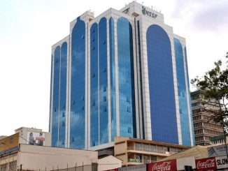 National Social Security Fund- NSSF building, Kampala