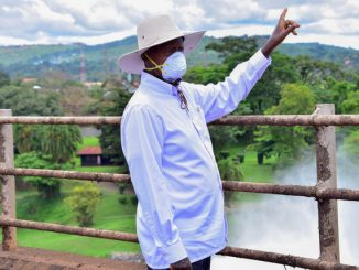 President Museveni orders mandatory wearing of face mask