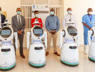 Rwanda deploys high-tech robots in coronavirus fight