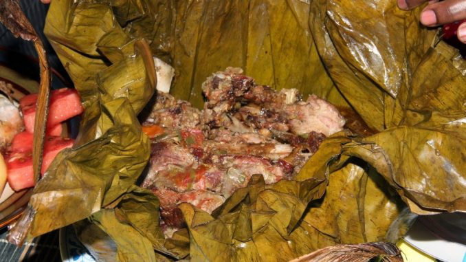 Part 2 Series: Smoked Meat Luwombo – Ugandan traditional delicacy
