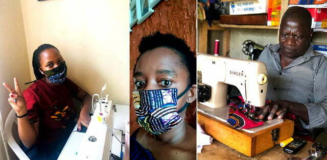 Tailors tap profits from homemade cloth face masks