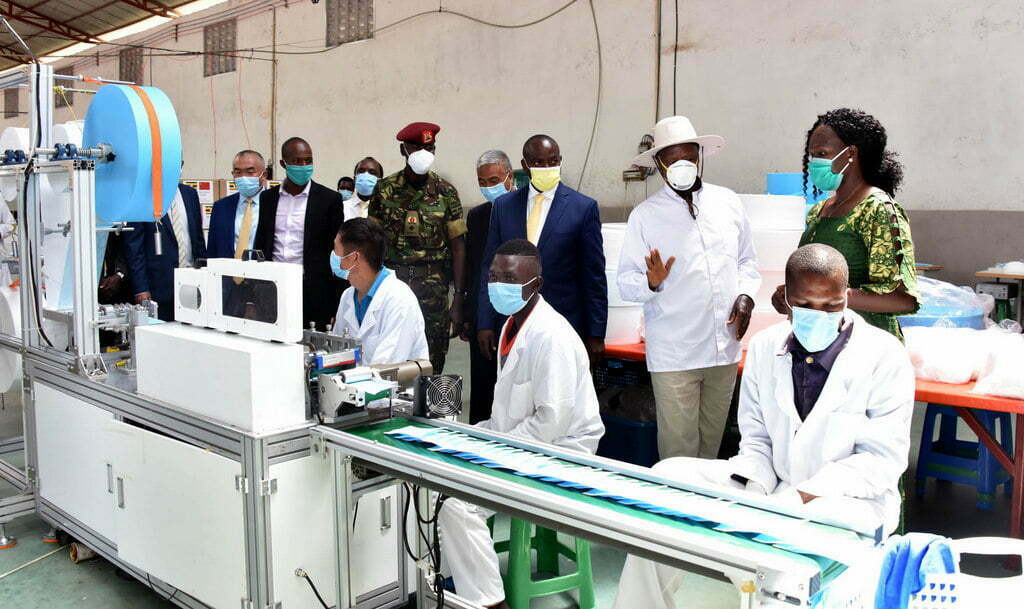 UNBS certifies six companies to manufacture face masks in Uganda