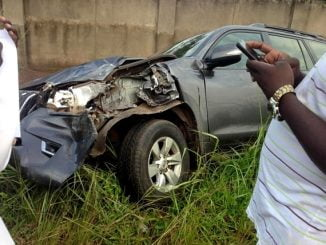 Leader of Opposition Betty Aol Ochan involved in road accident