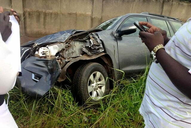 Betty Aol Ochan involved in an accident in Bobi town, Omoro district