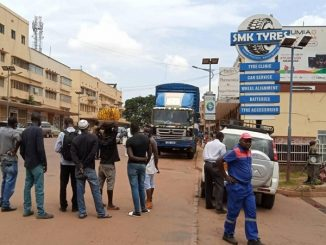 COVID-19 truck driver intercepted in Kampala
