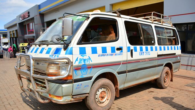 Commuter taxis in Uganda