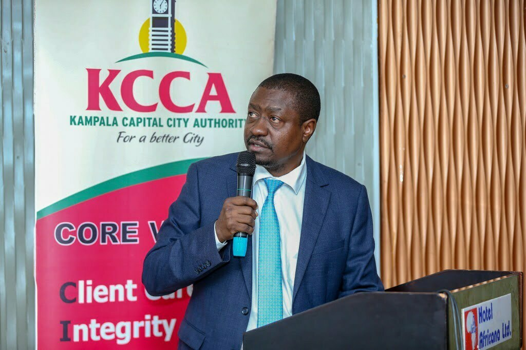Eng. Andrew Kitaka has beed acting Executive Director, KCCA for two years since the resignation of Jennifer Musisi in 2018
