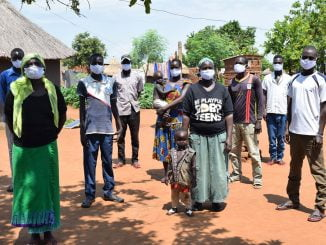Pagirinya refugee settlement is among the 1st recipients of face masks