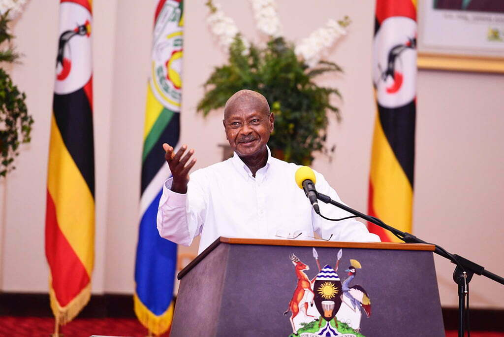 President Yoweri Museveni on scientic elections