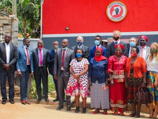 EU Ambassadors visit NUP offices in Kamwokya