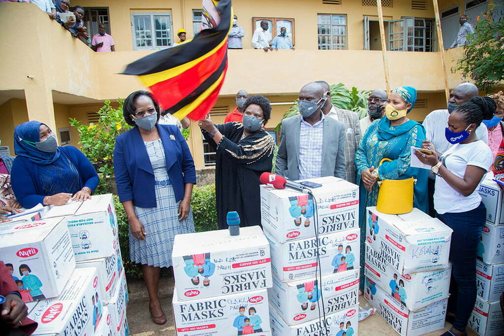 Govt's commitment to distribute face masks to all Ugandans of 6 years and above