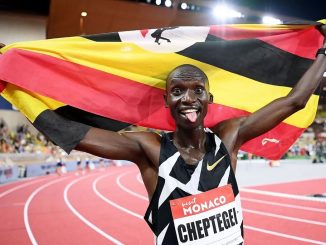 Uganda's Joshua Cheptegei sets new 5,000m World Record in France