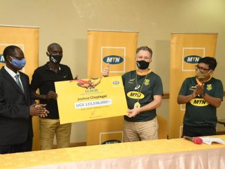 MTN Uganda rewards Joshua Cheptegei with Shs123m