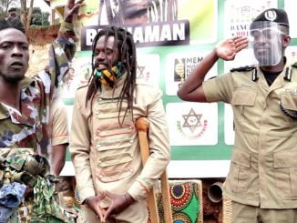 Buchaman and crew handover military attires to police