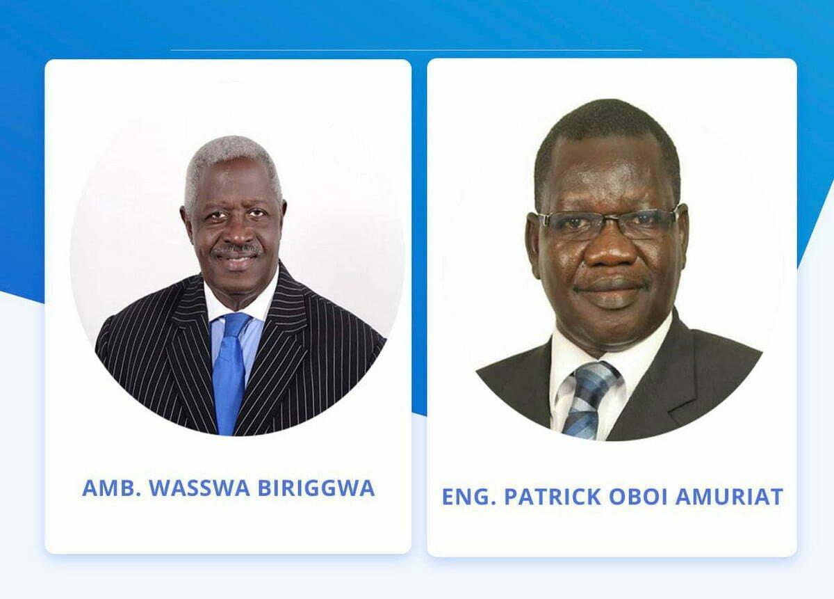 FDC Wasswa Biriggwa and Patrick Oboi Amuriat