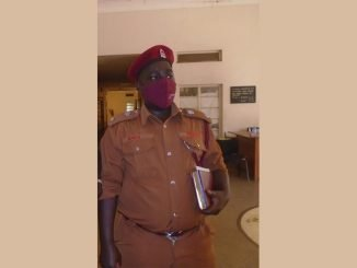 Suspended - Norman Aruho, the officer in charge of Moroto Prisons