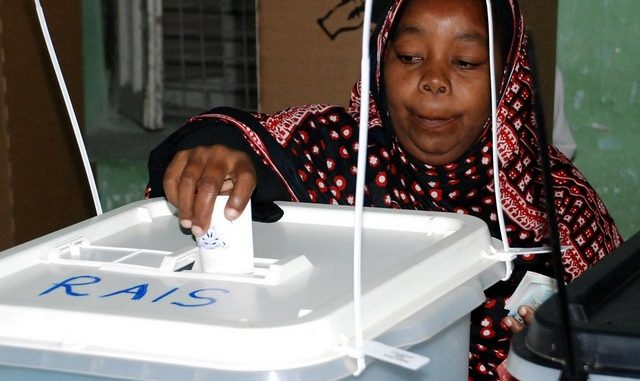Voting in Tanzania general elections