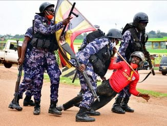 Bobi Wine protests